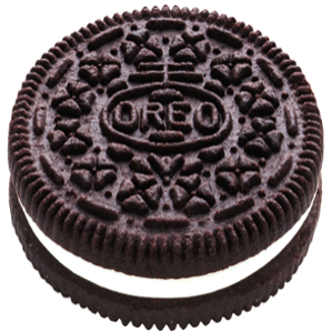 Oreo cookies, Black, Sandwich