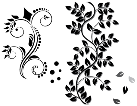 floral ornament vector free download, vector file clipart - Ornamente Vorlagen Kostenlos PNG