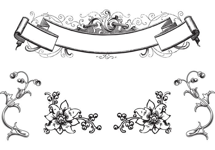 . PlusPng.com Ornament; Free Antique Ornaments u0026 Scroll Vectors PlusPng.com  - Ornamente Vorlagen Kostenlos PNG