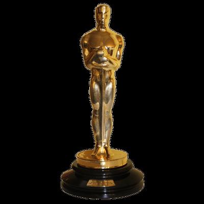 Oscar Award Trophy PNG-PlusPNG.com-400 - Oscar Award Trophy PNG