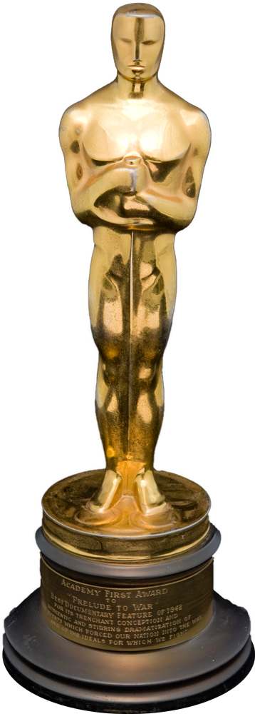 oscar_statue1 Academy Juvenile Award - Oscar Award Trophy PNG