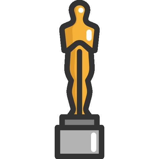 Oscar Award Trophy PNG - 72829