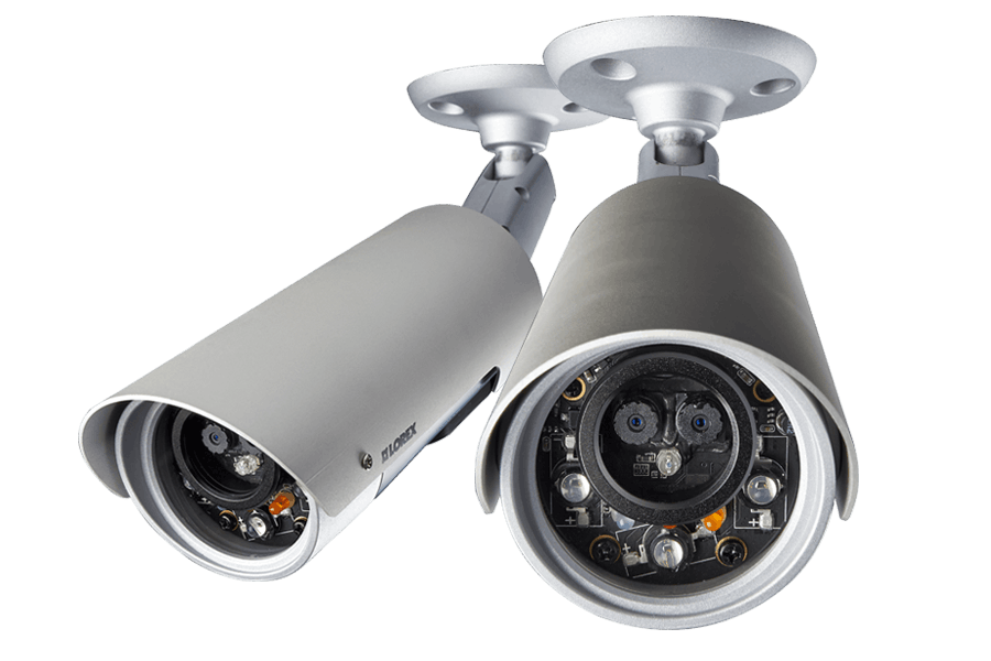 HD Wireless outdoor IP cameras - 2 pack - Outdoor PNG HD
