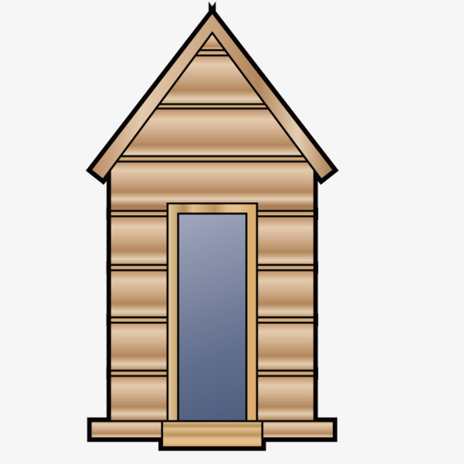 Model of a small house, Building, Houses, Shape Free PNG Image - Outhouse PNG HD