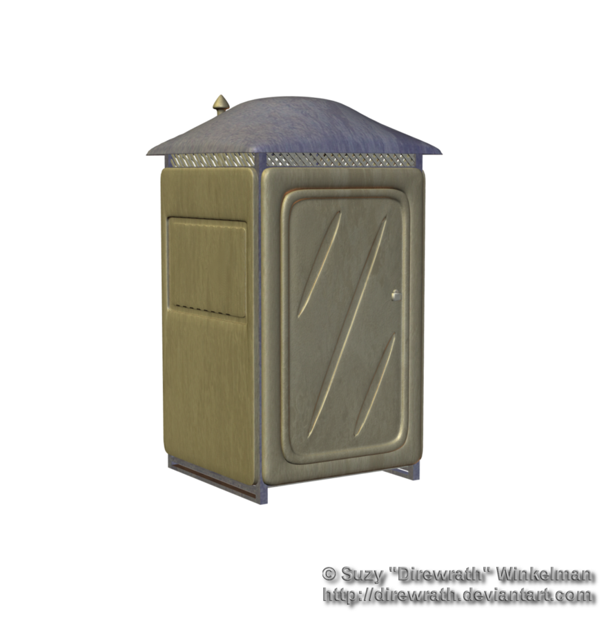 Modern Outhouse Png Stock by Direwrath PlusPng.com  - Outhouse PNG HD