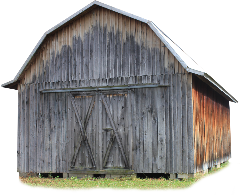 Pioneer Barn - PNG by Thy-Darkest-Hour PlusPng.com  - Outhouse PNG HD