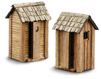 side gable outhouses - Outhouse PNG HD