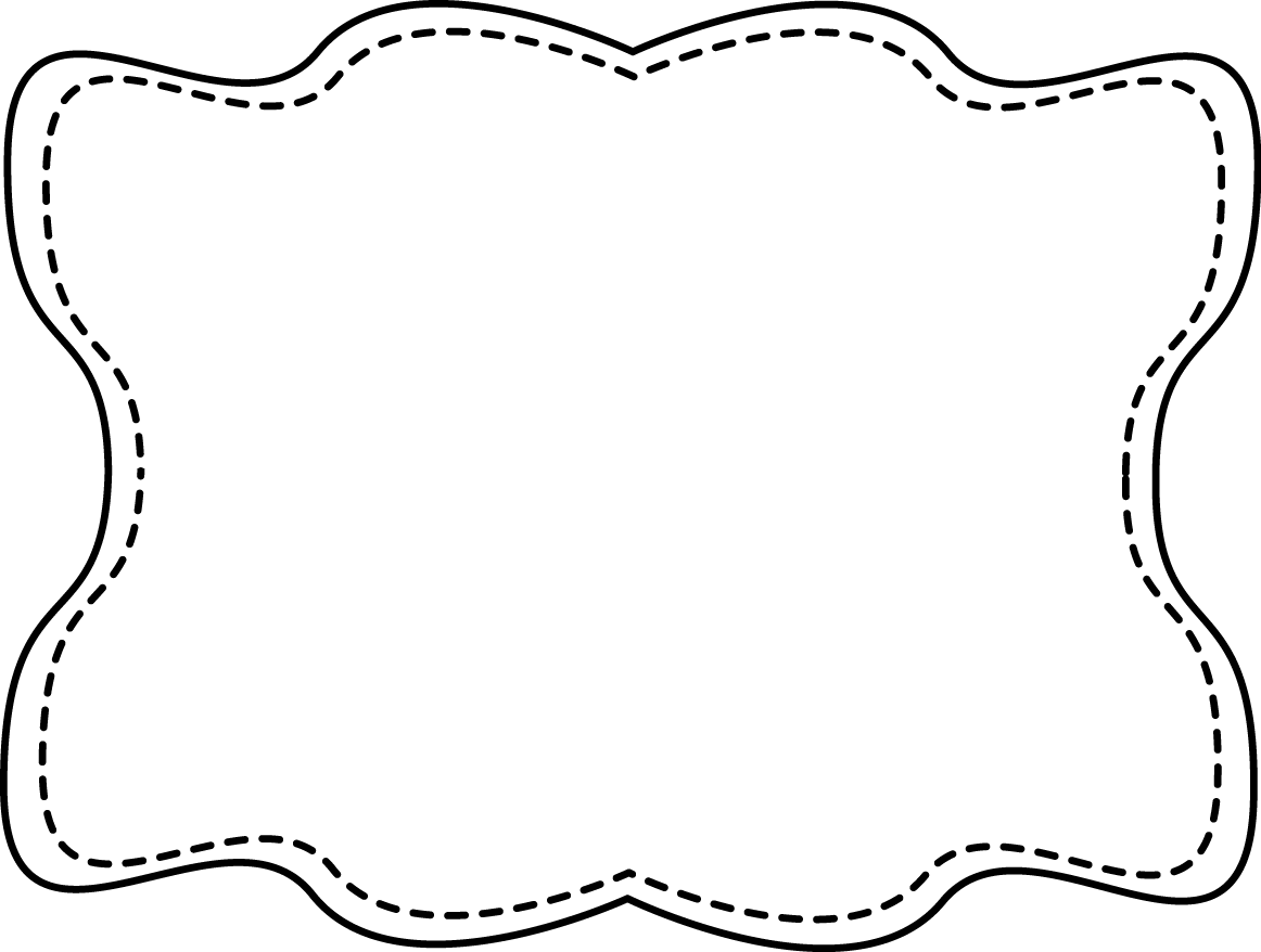 Fancy Frame Clip Art Black And White | Clipart library - Free - Oval PNG Black And White