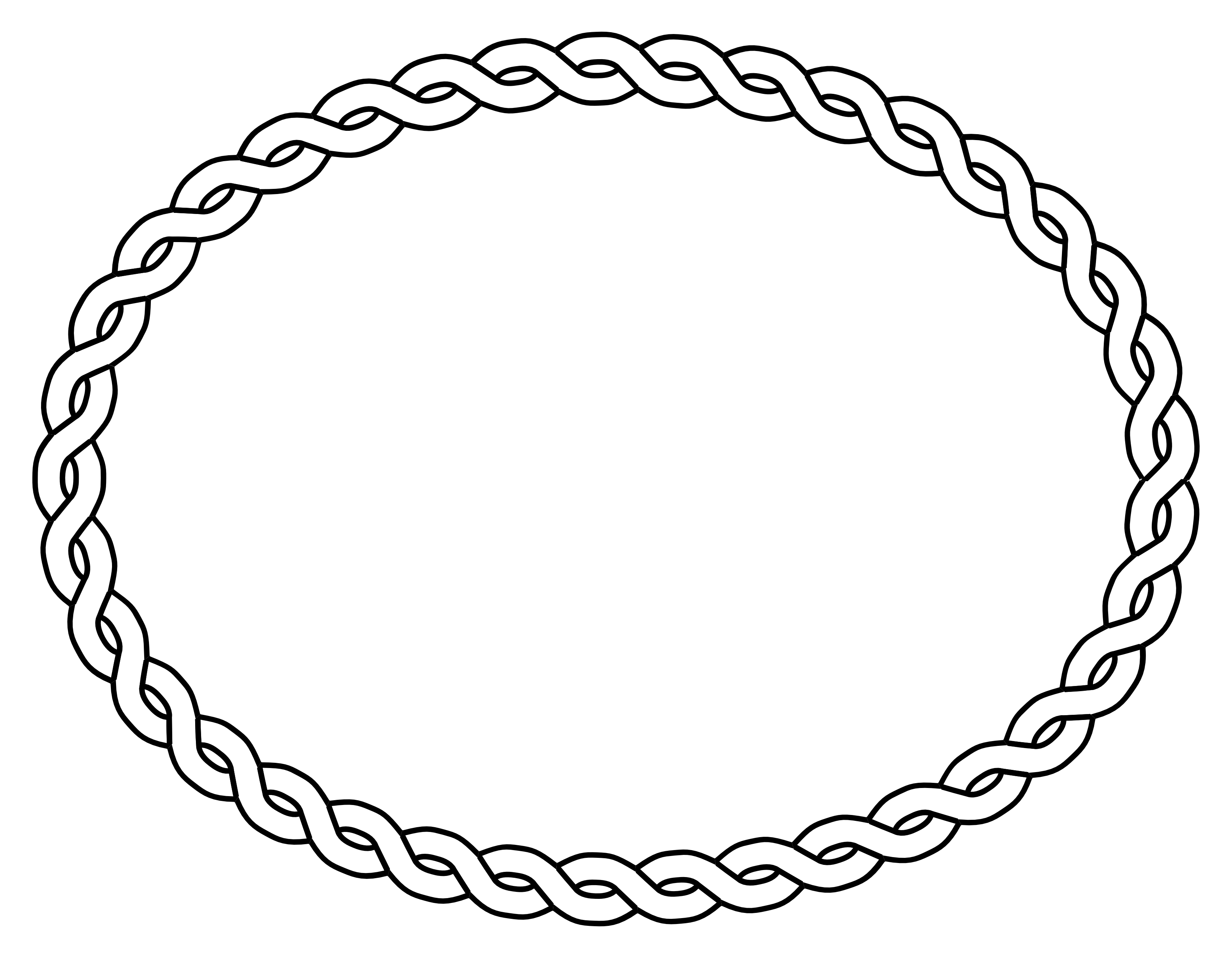 Oval - Oval PNG Black And White