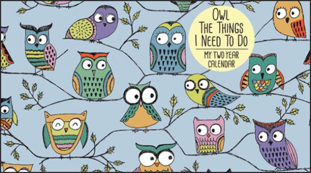 Owl Calendar PNG-PlusPNG.com-610 - Owl Calendar PNG
