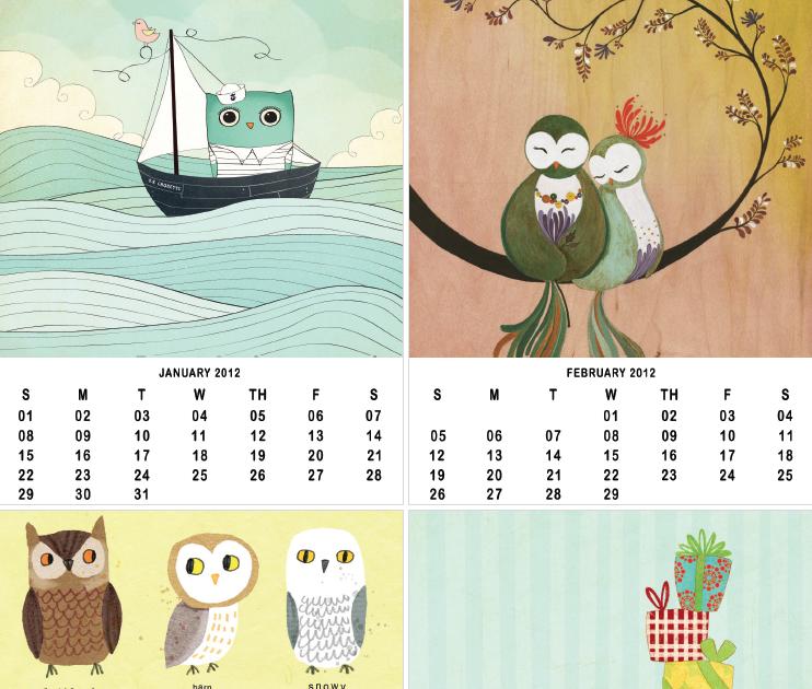 Owl Calendar PNG-PlusPNG.com-742 - Owl Calendar PNG