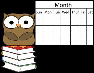 owl calendar - Owl Calendar PNG
