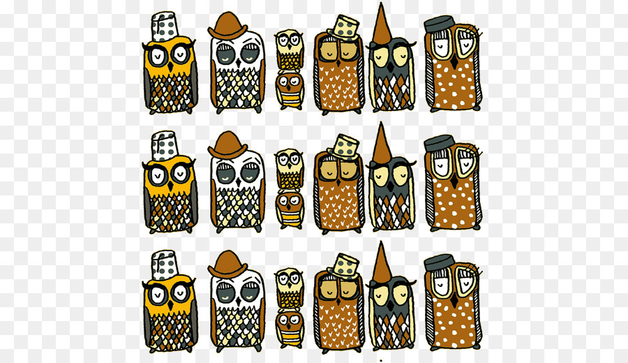 Paper Calendar Diary - owl - Owl Calendar PNG