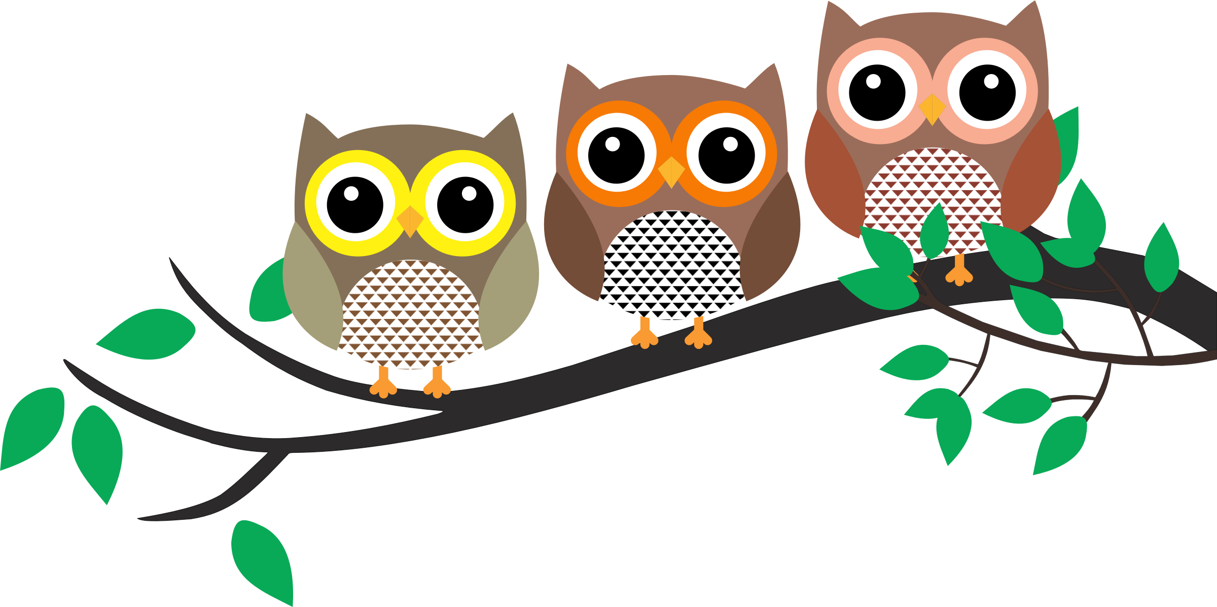 Decoration Wall Stickers Owls In A Tree Png Transparent Owls In A Tree Png Images