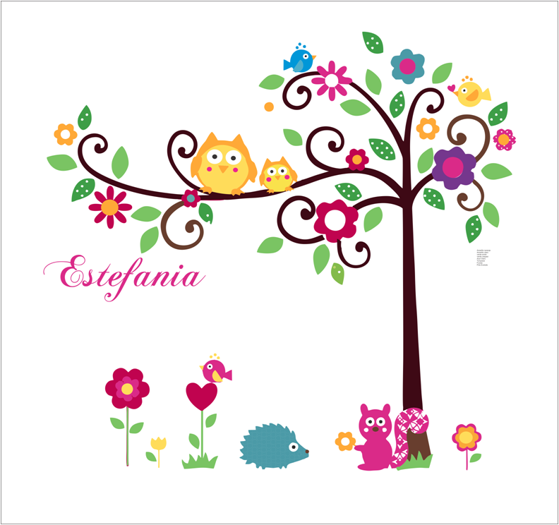 Cheap wall decals, Buy Quality tree wall sticker directly from China wall  stickers children Suppliers: Owls Tree Wall Sticker Children Home Decor  Cartoon PlusPng.com  - Owls In A Tree PNG
