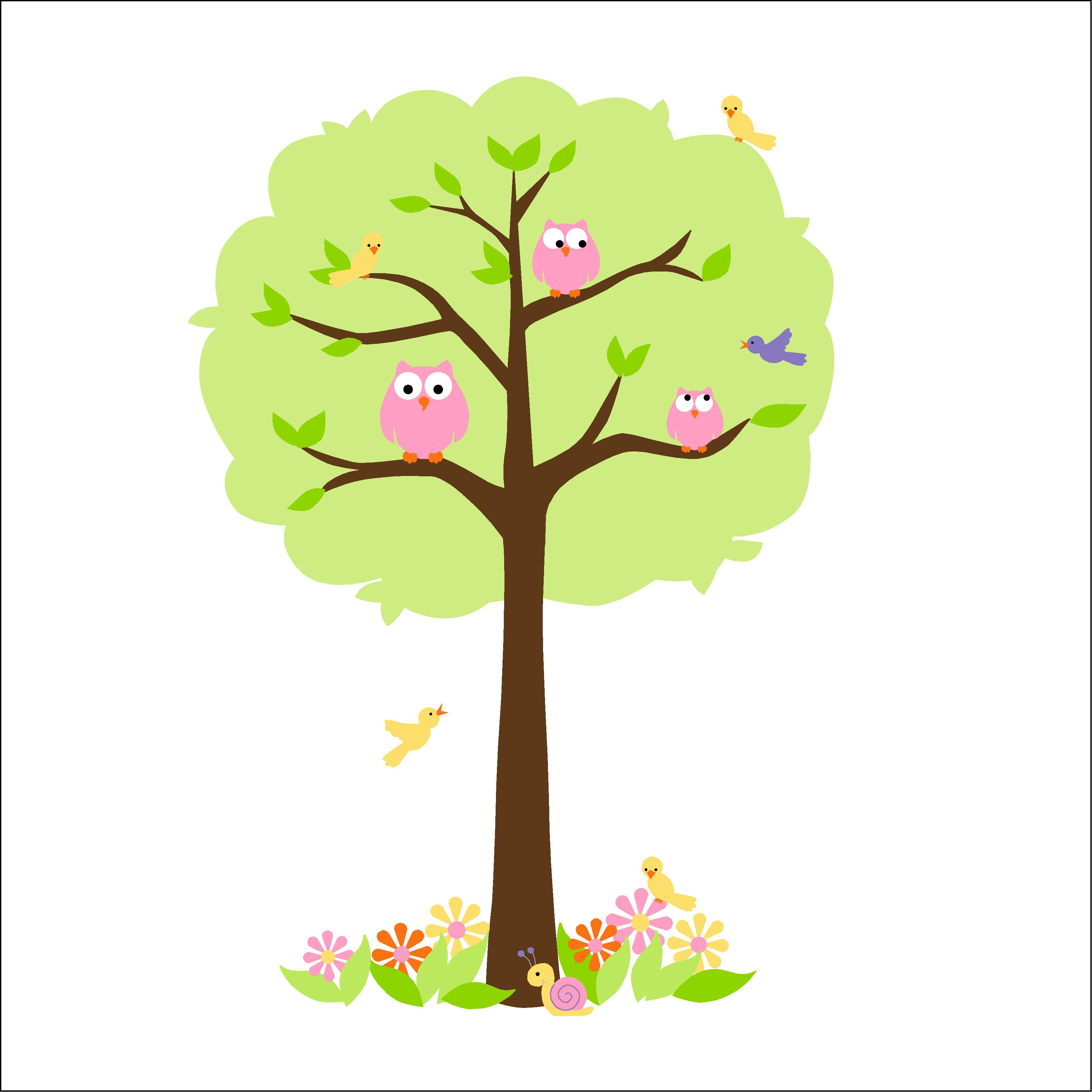 Customer PlusPng.com  - Owls In A Tree PNG