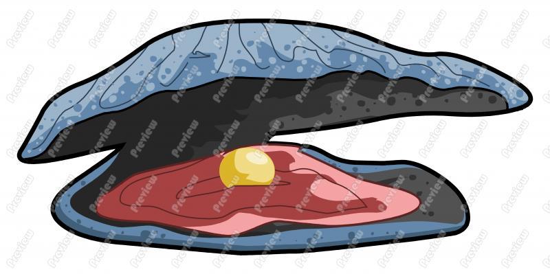 Oyster Cartoon Clip Art - Oyster Cartoon PNG