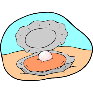 Oyster with Pearl clipart, cliparts of Oyster with Pearl free download  (wmf, eps, emf, svg, png, gif) formats - Oyster Cartoon PNG