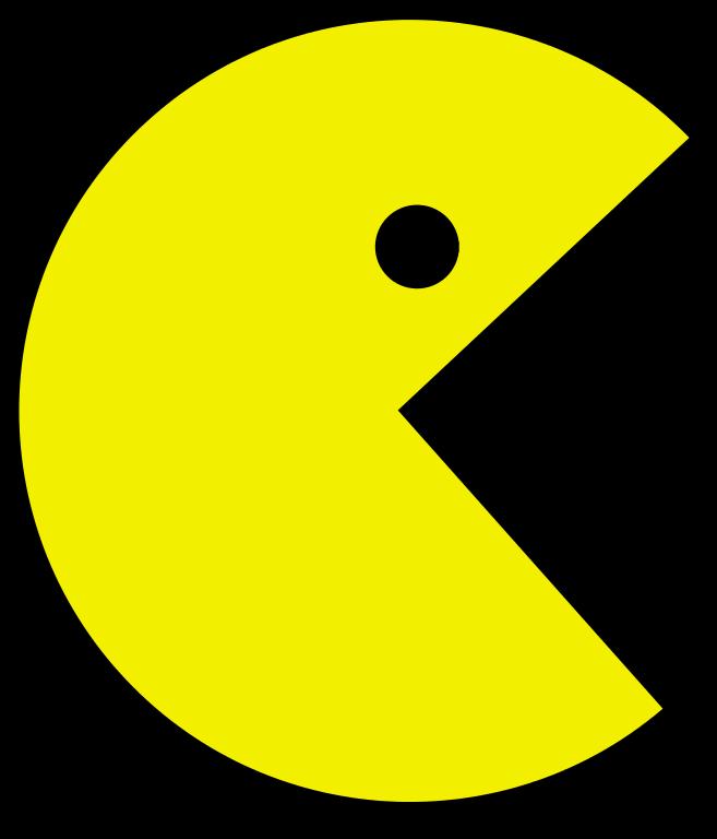 Dosya:Pac Man.svg - Pac PNG