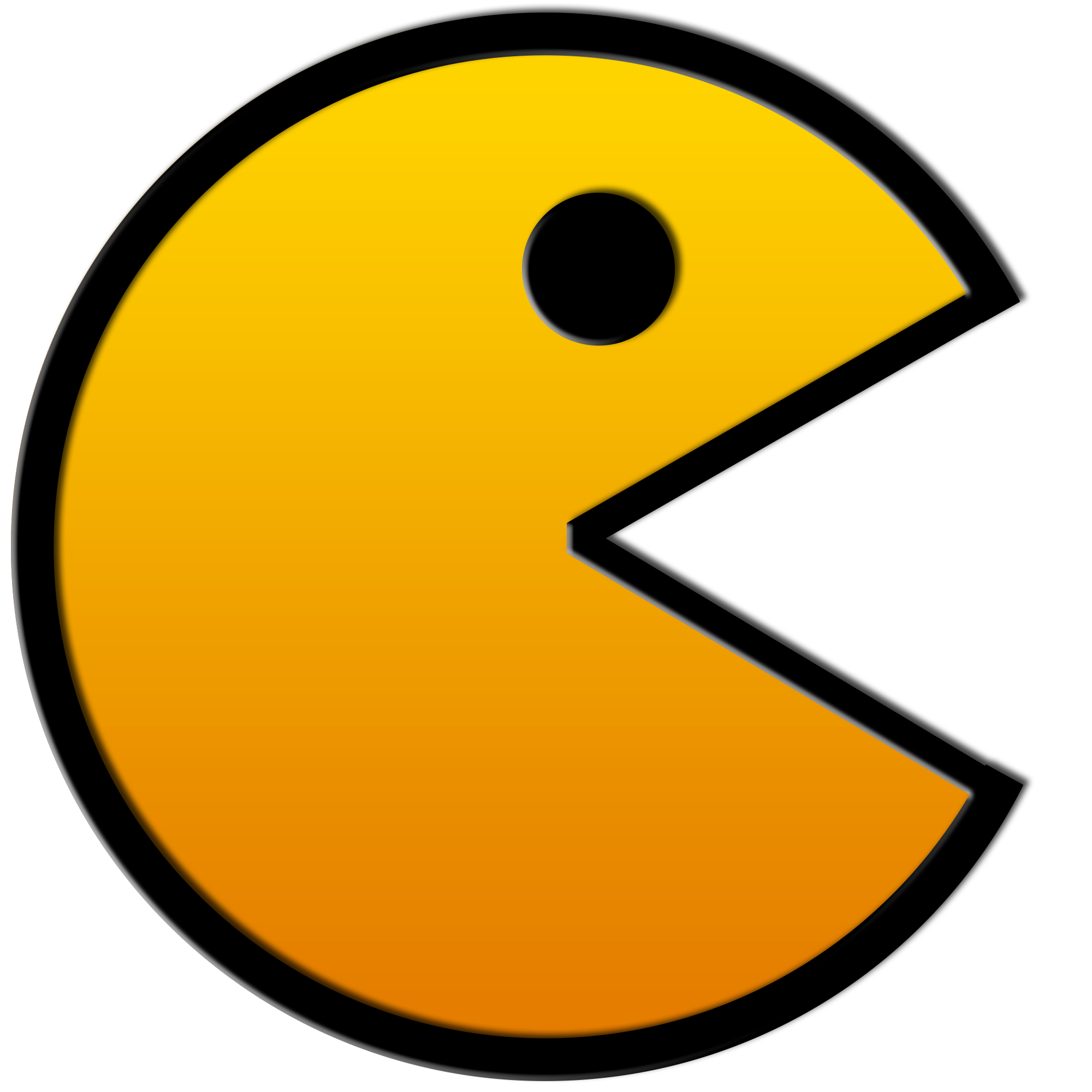 Retro Pacman.png - Pac PNG