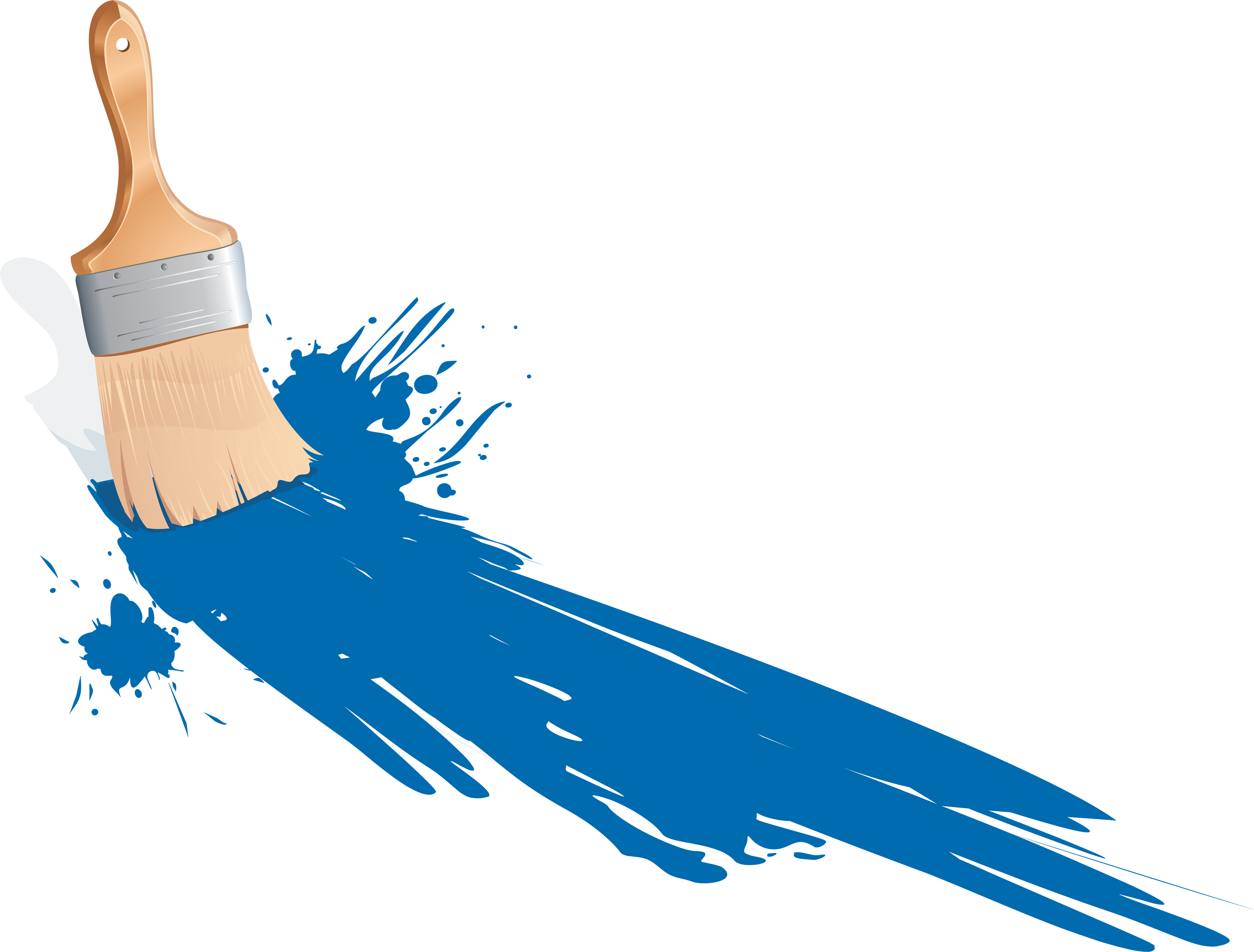 Paint Brush Png Image PNG Image - Paint PNG