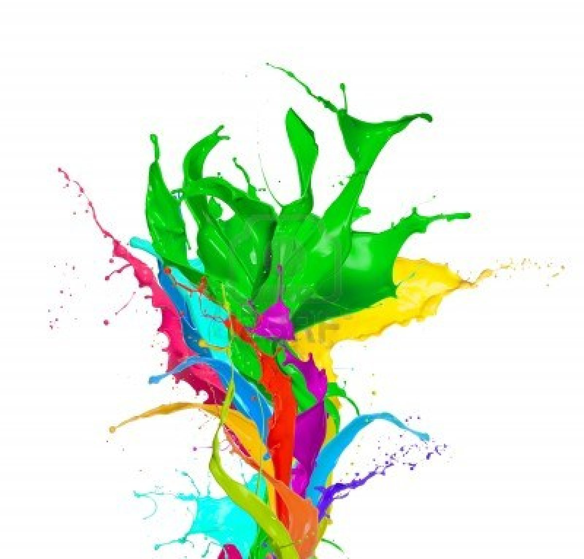 Painting clipart splashed #9 - Painting PNG HD