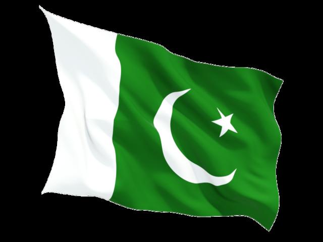 Fluttering flag. Download fla