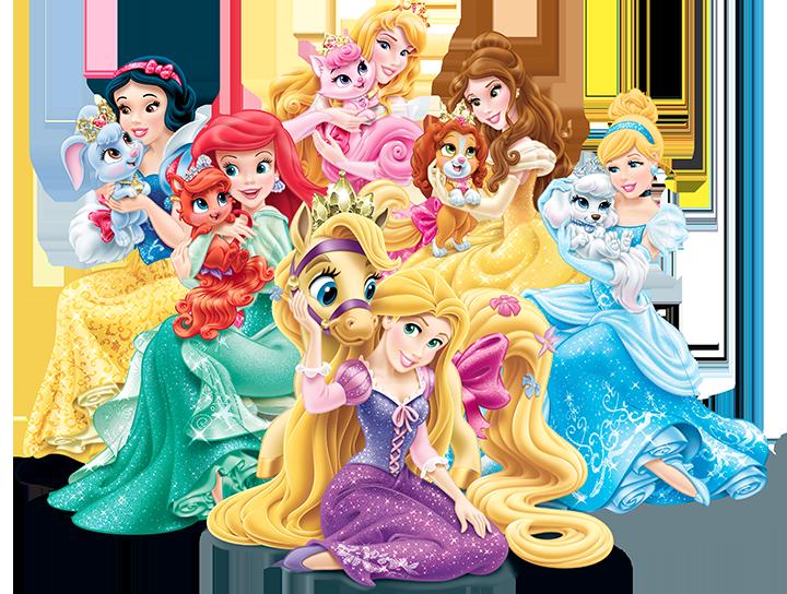 Palace Pets - Disney Princess.png - Disney Princesses PNG