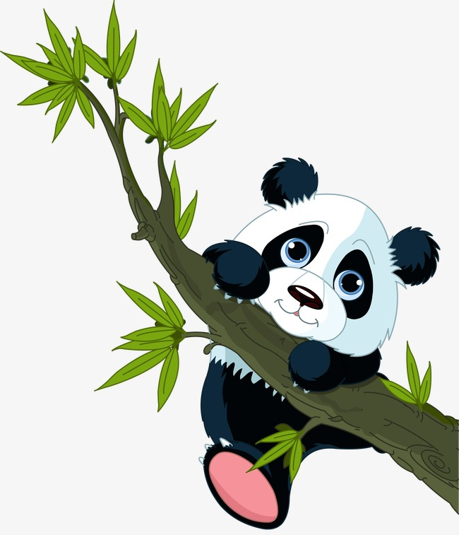 panda, Cartoon Animals, National Treasure Free PNG and Vector - Panda HD PNG