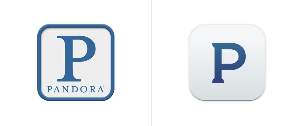 New Logo for Pandora