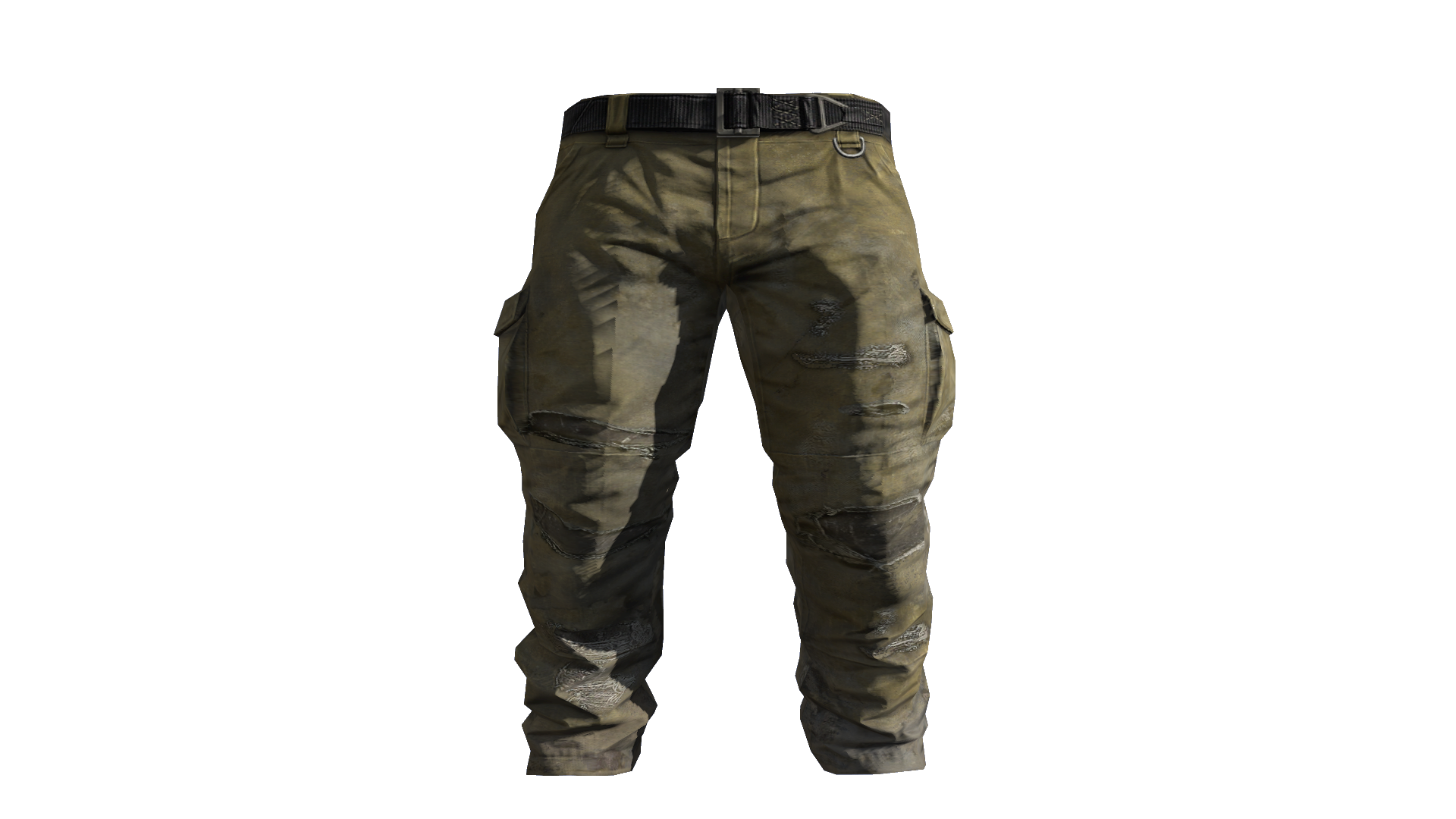Beige Cargo Pants Model (D-BD).png - Pants PNG HD