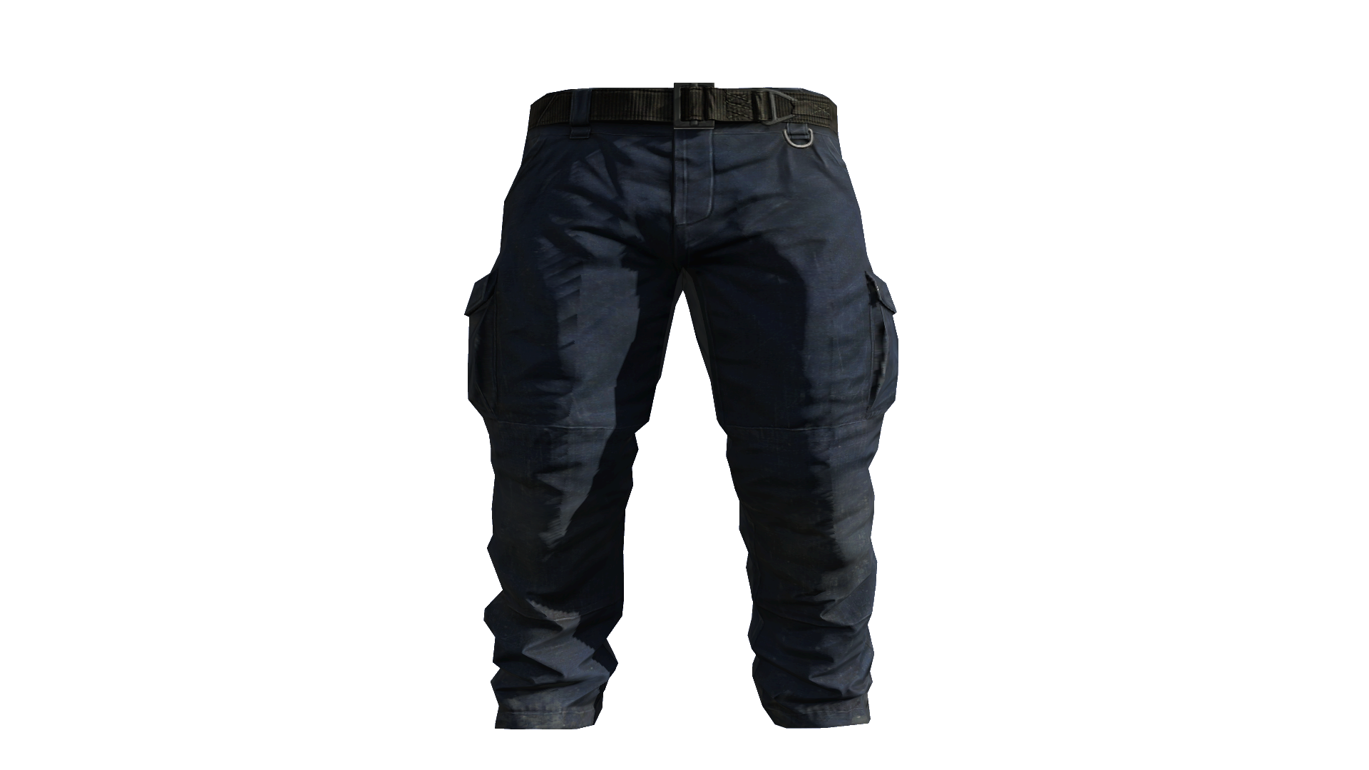 Blue Cargo Pants Model (P-W).png - Pants PNG HD