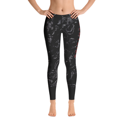 Couer Noir Leggings - Pants PNG HD