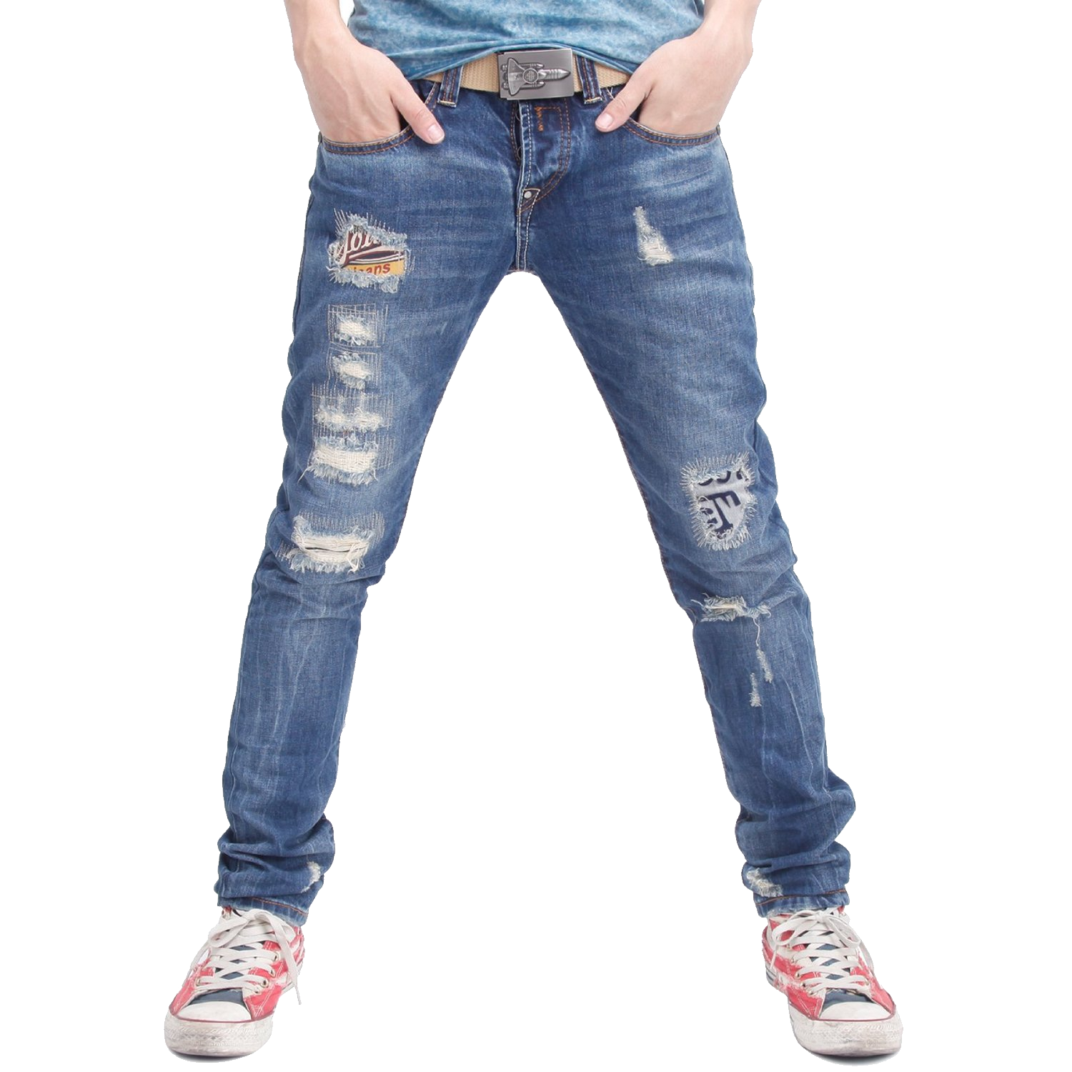Jeans Fashion Slim-fit pants Denim - jeans 1500*1500 transprent Png Free  Download - Blue, Waist, Denim. - Pants PNG HD