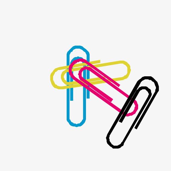 colored paper clips, Vector, Color, Paper Clip PNG and Vector - Paper Clip PNG Free