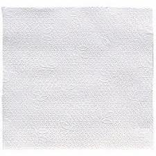 32x30cm 1Ply WHITE Soft Paper Napkin - Paper Napkin PNG