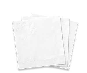 Chinet® Classic White™ All Occasion Napkins - Paper Napkin PNG