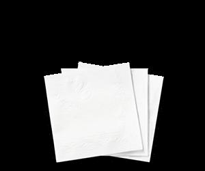 Chinet® Classic White™ Beverage Napkin - Paper Napkin PNG