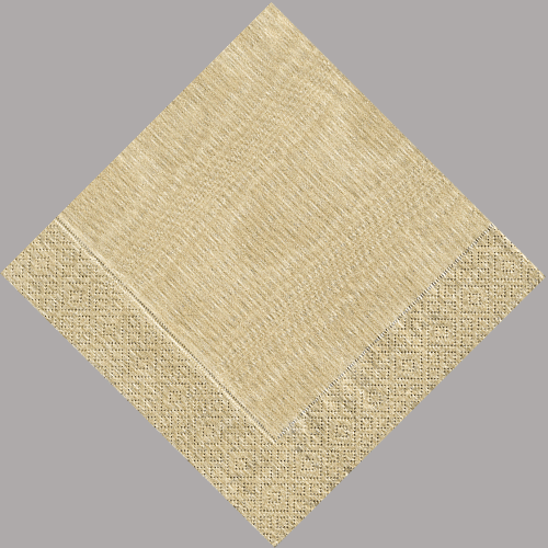 gold moire luncheon napkin - Paper Napkin PNG
