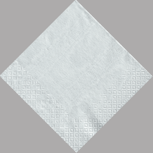 platinum moire luncheon napkin - Paper Napkin PNG