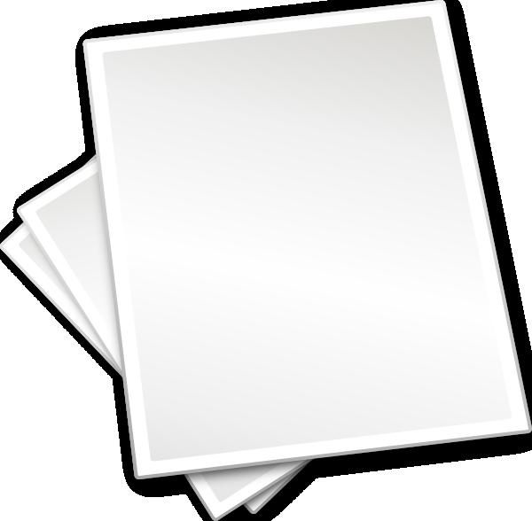 Paper Sheet PNG - 13456