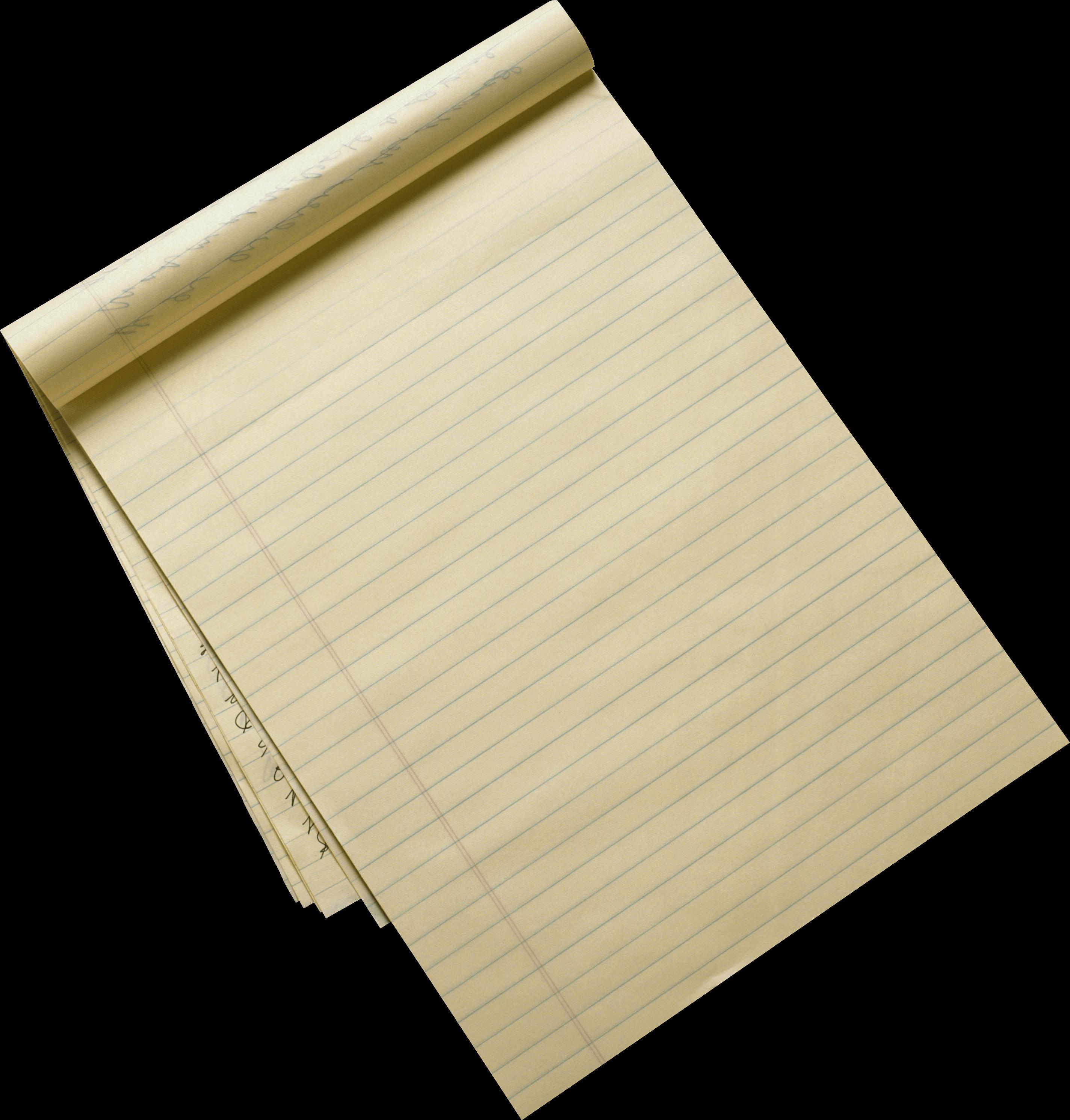 Paper Sheet PNG