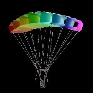 Parachute HD PNG-PlusPNG.com-300 - Parachute HD PNG
