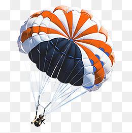 parachute, Parachute, Orange, Movement PNG Image - Parachute HD PNG