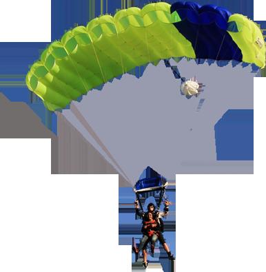 Parachuting Parachute Icon, P