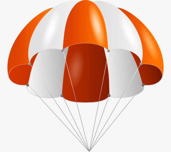 Hand-painted parachute, Cartoon, Parachute, Hand Painted PNG Image - Parachute PNG HD
