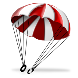 Parachute PNG HD - 124563