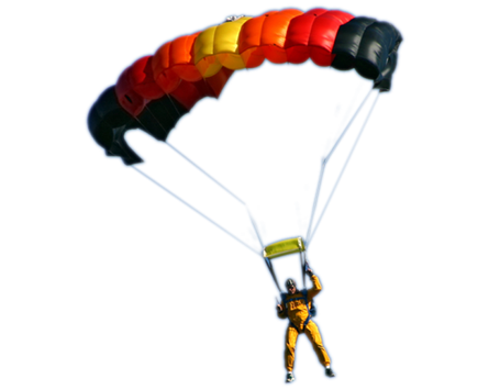 Parachute PNG HD - 124567