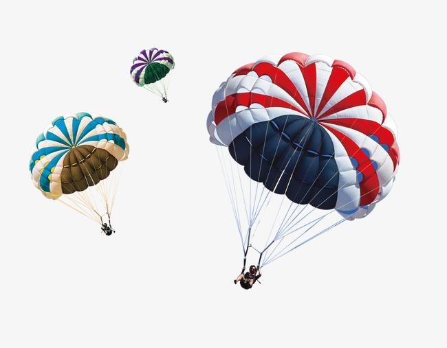 Parachute PNG HD - 124561