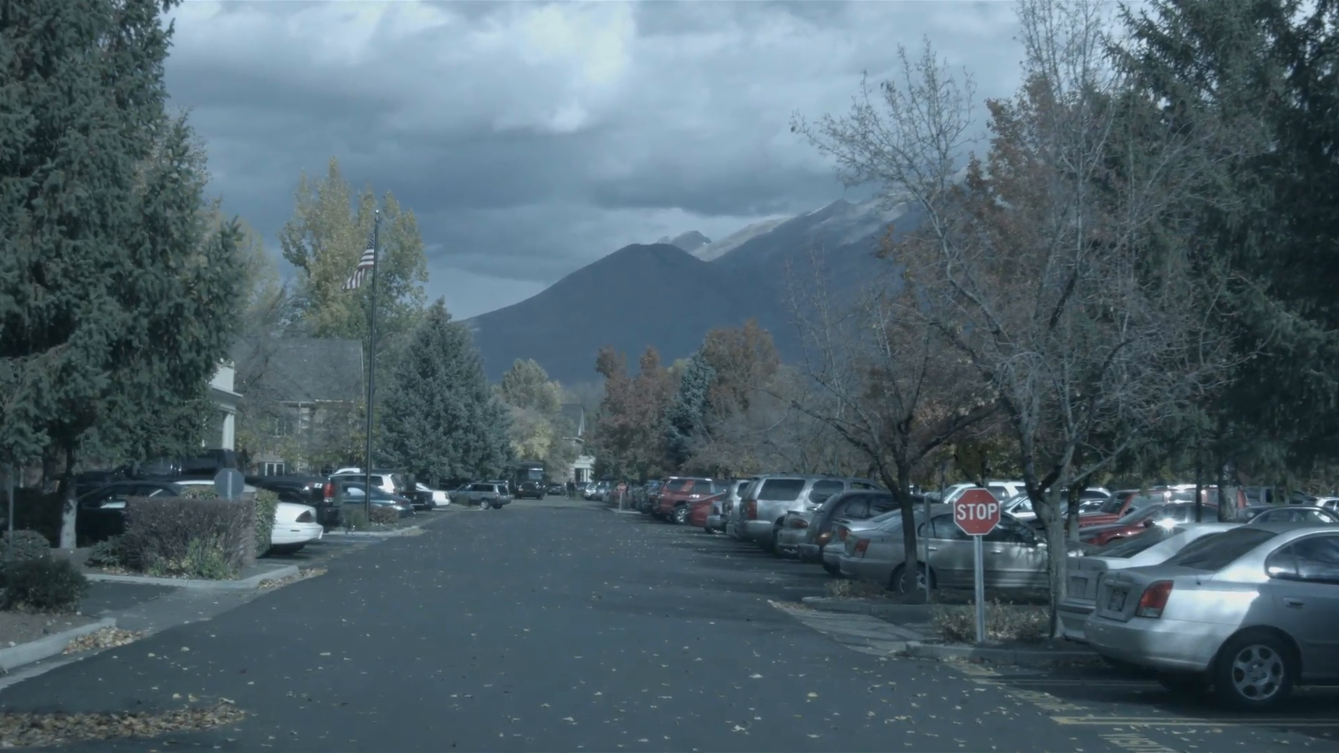 Business road parking lot cars autumn storm POV HD 001 Stock Video Footage  - VideoBlocks - Parking Lot PNG HD